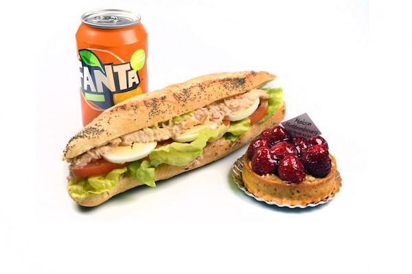 Formule sandwich boulangerie Jean Moulin à Caluire
