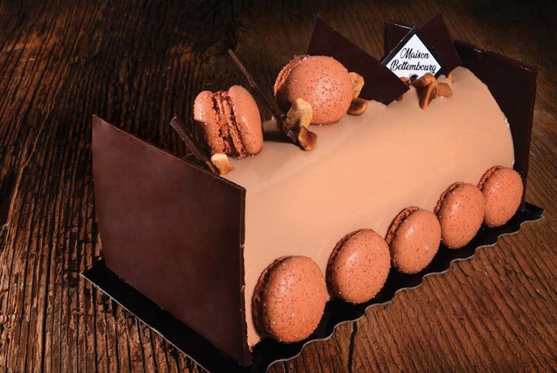 Bûche de noël Louisiane - Boulangerie Jean Moulin - Caluire et Cuire