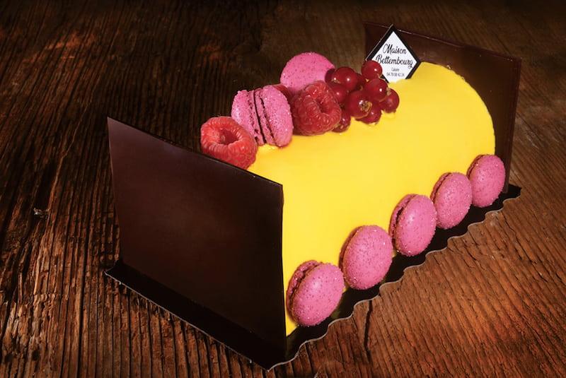 Bûche de noël Caraïbes - Boulangerie Jean Moulin - Caluire et Cuire