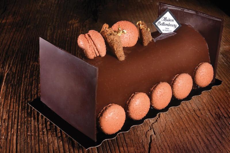 Bûche de Noël La Turin - Boulangerie Jean Moulin - Caluire et Cuire