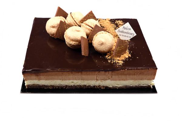 Gâteau au 3 chocolats 4/5 personnes
