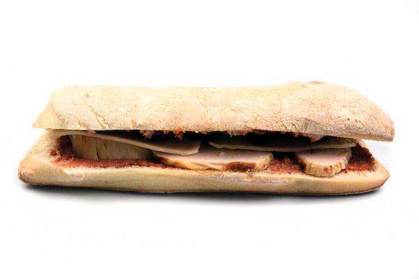 Panini poulet boulangerie Jean Moulin à Caluire