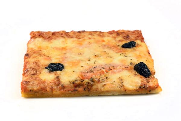Pizza trois fromages boulangerie Jean Moulin à Caluire