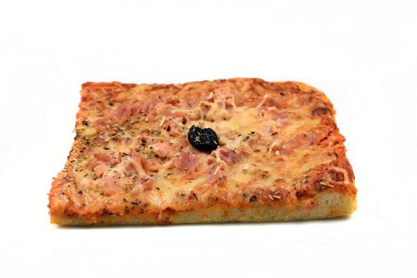 Pizza au jambon boulangerie Jean Moulin à Caluire