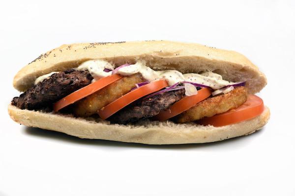 Sandwich charolais boulangerie Jean Moulin à Caluire