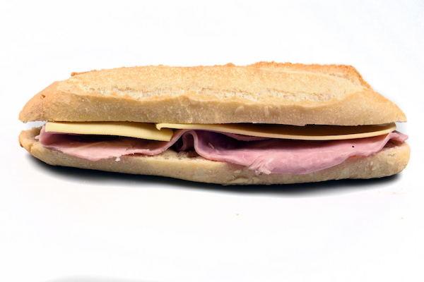 Sandwich parisien boulangerie Jean Moulin à Caluire